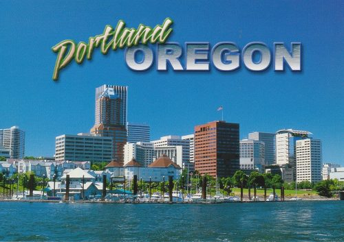 Oregon: Portland Skyline (G26)