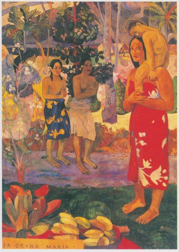Paul Gauguin: Je vous salue Marie (1891) (U01)