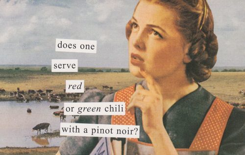 Red or Green Chili (Anne Taintor) (S21)