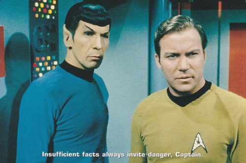 Star Trek 'Insufficient Facts' (N23)