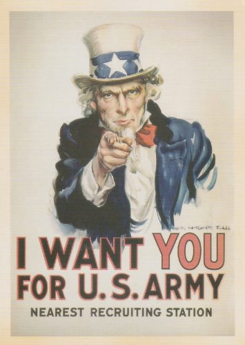 Uncle Sam US Army (I11)