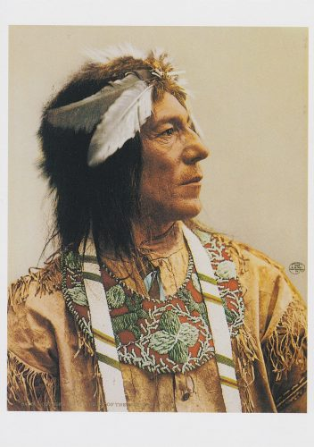 Obtossaway, a Chief of the Ojibwas, 1903 (H20)