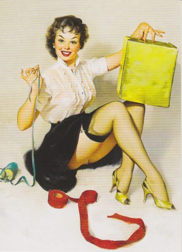 A Neat Package, Pinup, Gil Elvgren (P14)