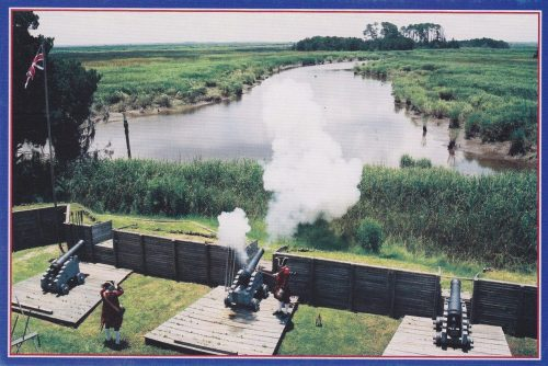 Georgia: Fort King George Cannon (D10)
