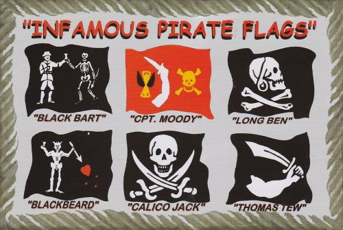 Infamous Pirate Flags (I25)